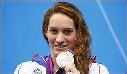 Quel sport Camille Muffat pratiquait-elle ?