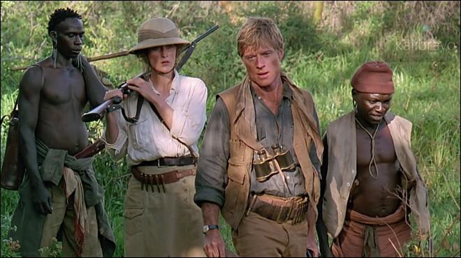 Une jeune Danoise, Karen, s'embarque pour l'Afrique. Elle se consacre à la culture des caféiers et s'éprend d'un chasseur épris d'aventures. Quel est ce film de Sydney Pollack, avec Meryl Streep et Robert Redford ?