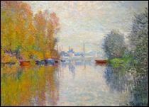 """Qui a peint """"Automne sur la Seine à Argenteuil"""" ?"""