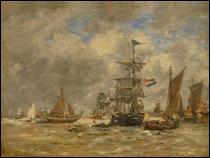 """Qui a peint """"La mer"""" ?"""