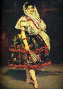 """Qui a peint """"Lola de Valence"""" ?"""