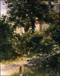 "Qui a peint ""Un coin de jardin à Rueil"" ?"