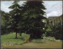 """Qui a peint """"Le jardin de l'abbaye de Loos les Lille"""" ?"""