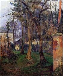 """Qui a peint """"Jardin abandonné à Rouen"""" ?"""