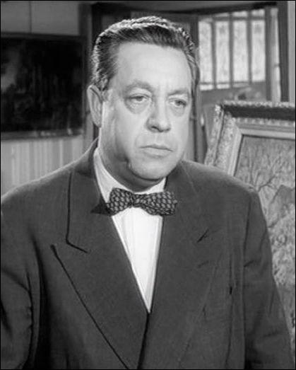 """Il était le commissaire Bonfils dans """"Maigret voit rouge"""" de Grangier, puis le commissaire Fardiano dans """"Le Deuxième Souffle"""" de Melville : c'est ..."""
