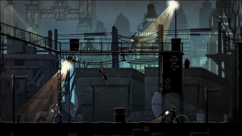 De quel jeu d'infiltration 2D provient cette image ?