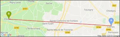 De quel département Loches et Chinon sont-elles des sous-préfectures ?