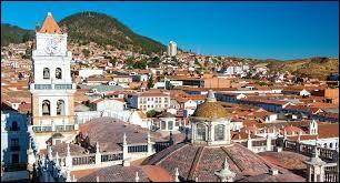 De quel pays Sucre est-elle la capitale ?