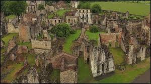 En quelle année s'est déroulé le massacre d'Oradour-sur-Glane ?