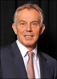 De quel pays Tony Blair a-t-il été le premier ministre ?
