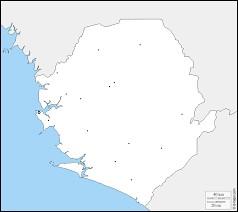 Lequel de ces pays borde la Sierra Leone ?