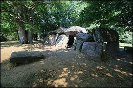 Dans quel département peut-on voir le dolmen la Roche-aux-Fées ?