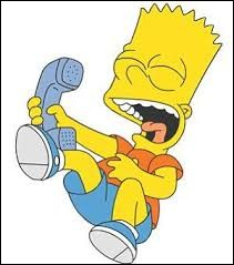 À qui Bart Simpson fait-il des farces téléphoniques ?