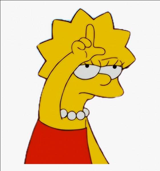 Quel surnom avait été donné à Lisa lorsqu'elle était déguisée en garçon ?