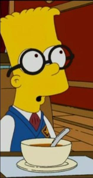 Que raconte Simon Woosterfield à Bart à propos de son demi-frère et de sa demi-soeur ?