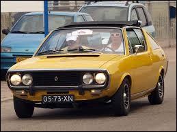Durant quelle décennie est apparue la Renault 17 ?