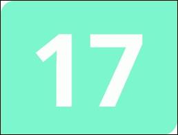 """Comment écrit-on en lettres le nombre """"17"""" en espagnol ?"""