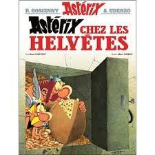 Questions sur l'album 'Astérix chez les Helvètes'