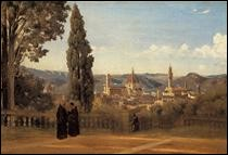 "Qui a peint ""Florence, les jardins de Boboli"" ?"