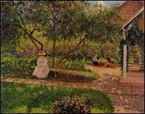 """Qui a peint """"Coin du jardin à Eragny"""" ?"""