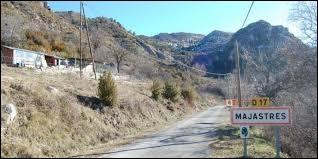 Nous sommes en région P.A.C.A., à l'entrée de Majastres. Petit village de 4 habitants, dans l'arrondissement de Digne-les-Bains, il se situe dans le département numéro ...