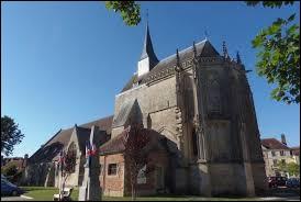 Vous avez sur cette image l'église Saint-André d'Exmes. Ancienne commune Ornaise, elle se situe en région ...