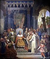 En quelle année Charlemagne a-t-il été sacré empereur ?