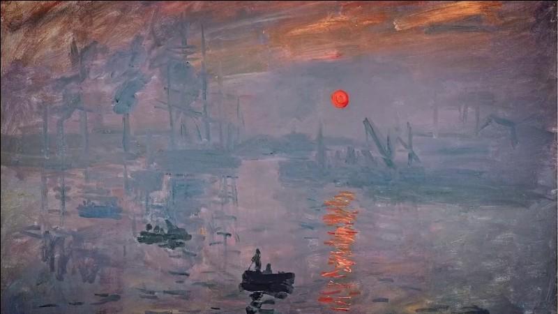 """Culture générale sans image : à quel artiste doit-on l'huile sur toile """"Impression, soleil levant"""" ?"""