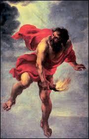 Comment s'appelle le fils du titan Prométhée, seul rescapé du déluge causé par Zeus sur la Terre ?