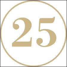 Combien de fois peut-on soustraire 5 au nombre 25 ?