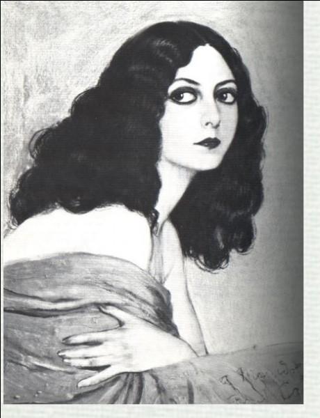"""1926- Musidora a été consacrée Reine du cinéma par le Comité des Fêtes de la ville de Paris pour son rôle de Dalila dans le film """"Le berceau de Dieu"""". Devant une foule en liesse, de quelle façon cet événement a-t-il été immortalisé ?"""