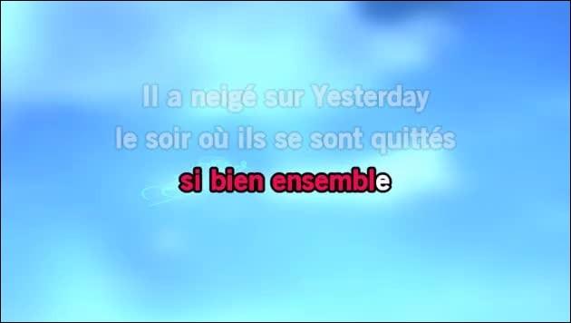 """Il a neigé sur Yesterday"" : Artiste n°1 ou artiste n°2 ?"