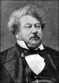 """Cet écrivain, célèbre pour """"Les Trois Mousquetaires"""" et """"Le Comte de Monte-Cristo"""", se prénomme ..."""