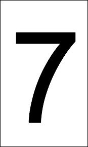 Comment dit-on 7 en japonais ?
