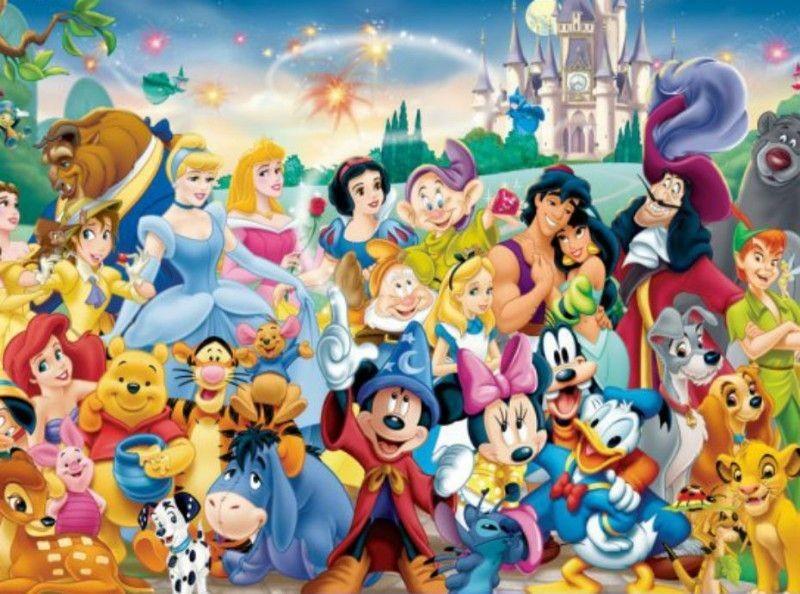 Les Personnages Disney - 2