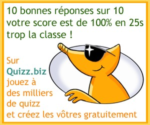 Caméléon Quizz.biz and Co !