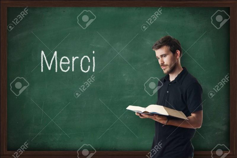 """... et je DÉTESTE encore plus les profs de français."""" ?"""