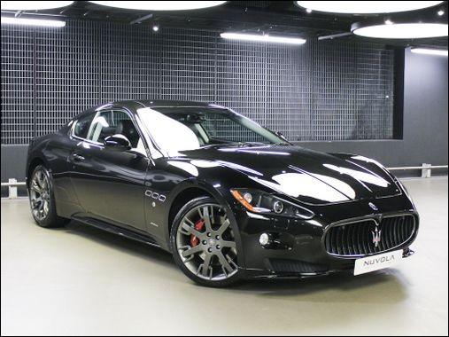 Quel est le modèle de cette Maserati ?