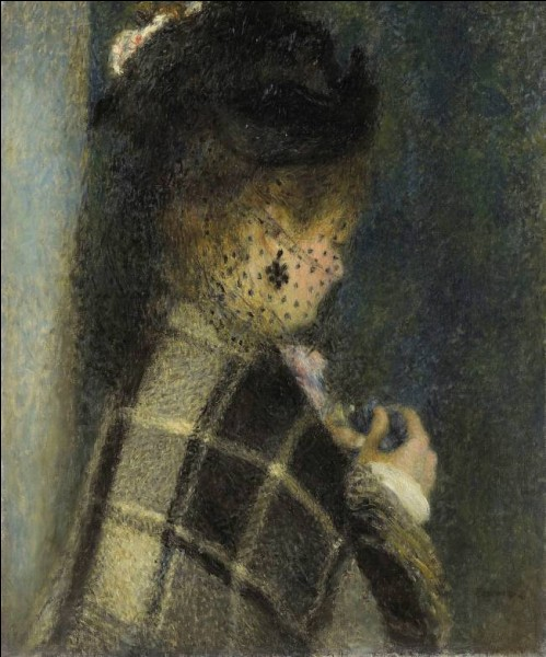 """Qui a réalisé le tableau """"Jeune fille à la voilette"""" ?"""