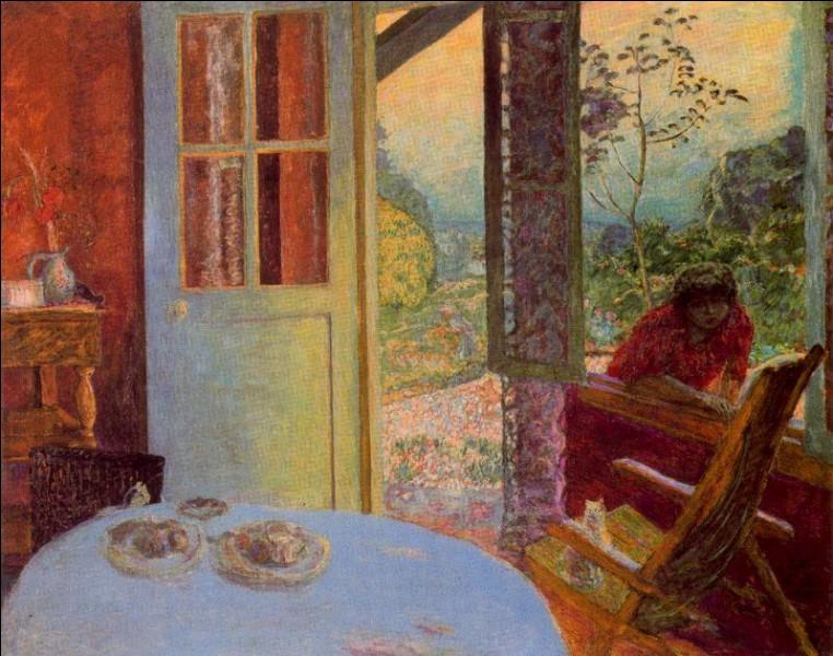 """Quel peintre est l'auteur du tableau """"Salle à manger à la campagne"""" ?"""
