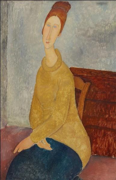 """""""Jeanne Hébuterne au sweat jaune"""" est l'œuvre de quel peintre ?"""