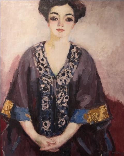 """Quel peintre est l'auteur de l'œuvre """"Portrait de femme"""" ?"""