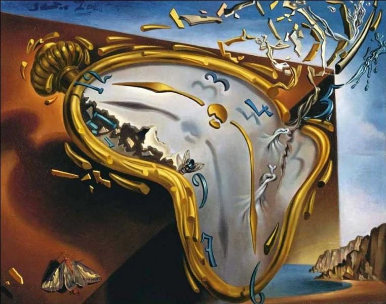 """C'est après avoir mangé du camembert que Salvador Dali eut l'idée du tableau """"La Persistance de la mémoire""""."""