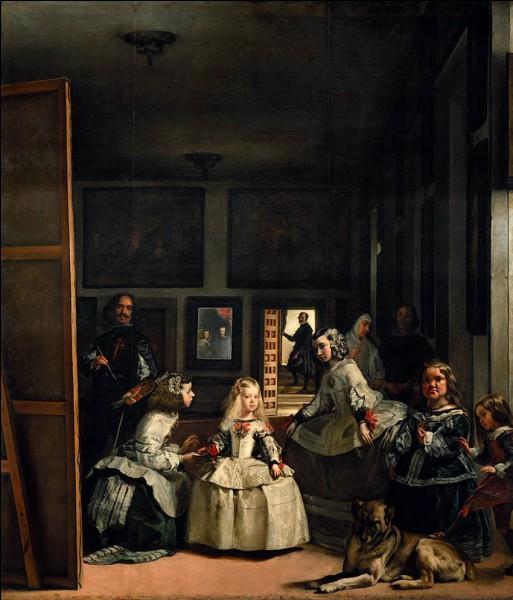 """Dans le tableau """"Les Ménines"""" de Vélasquez, quel roi d'Espagne est représenté dans le miroir du fond ?"""