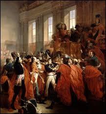 En quelle année eut lieu la prise de pouvoir de Napoléon 1er ?