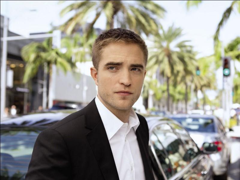 Quel est le personnage joué par Robert Pattinson ?