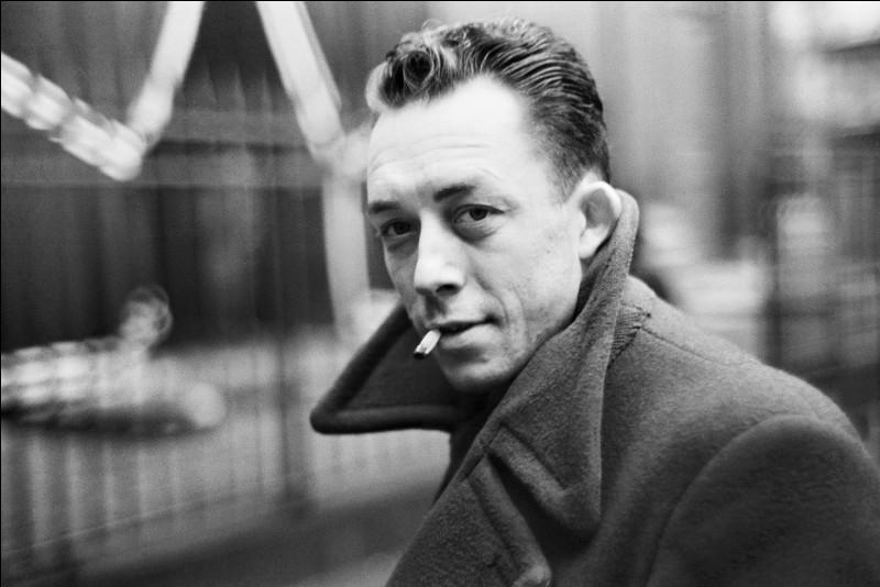 """Cet écrivain, auteur de """"L'Étranger"""", """"La Peste"""", """"l'Homme révolté"""", se prénomme ..."""