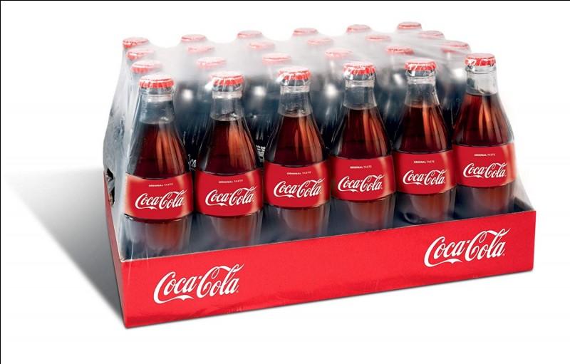Coca-Cola a été vert avant d'être rouge.
