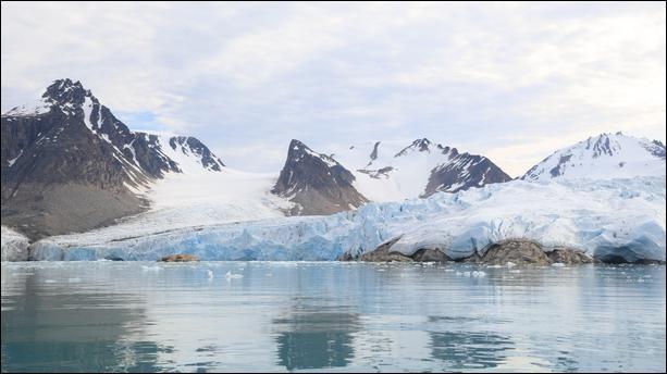 L'Arctique est plus froid que l'Antarctique.