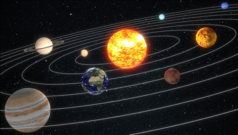 Combien y a-t-il de planètes dans le Système solaire ? Nomme-les.